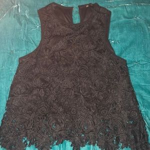 black lace beauty 🌙
